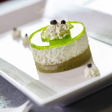 Perles du japon façon riz au lait de l'auberge du château de Clisson